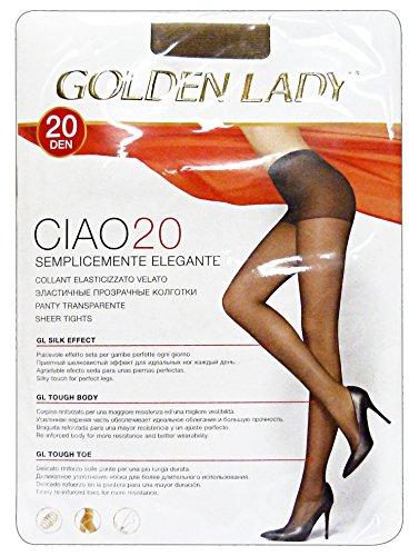 Golden Lady Ciao Ciao Collant 20 Den Marrone Castoro Taglia Il 36O - 300 g
