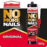 UniBond No More Nails Original, Heavy-Duty Mounting Adhesive, Strong Glue for Wood, Ceramic, Metal & More,...