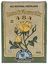 Down to Earth Organic Rose & Flower Fertilizer Mix