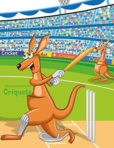 Livro para Colorir de Críquete: 1