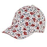 Sterntaler Baseball-Cap 1422105 Gorra de bisbol, Weiss, 53 Baby Girls