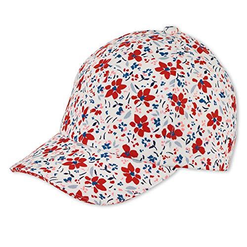 Sterntaler Mädchen Baseball-Cap 1422105 Baseballkappe, Weiss, 55