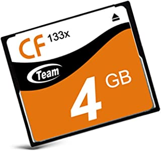 TEAM CFカード 4GB コンパクトフラッシュメモリ 133x TG004G2NCFF (4GB)