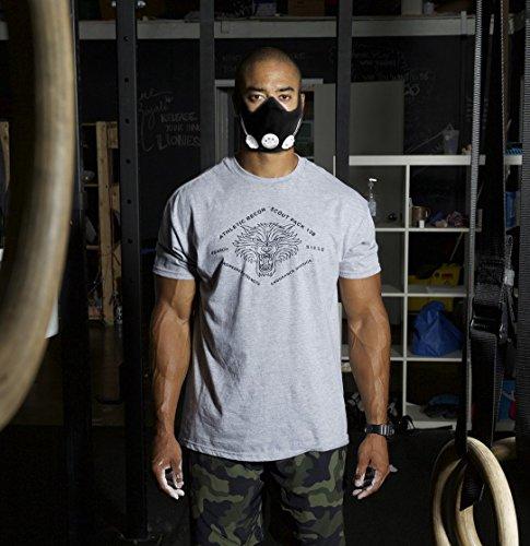 Phorb Training Mask schwarz Größe m Atemmaske für Crossfit Trainingsmaske steigert Ausdauer Fitness Kondition ähnelt Höhentraining - 8