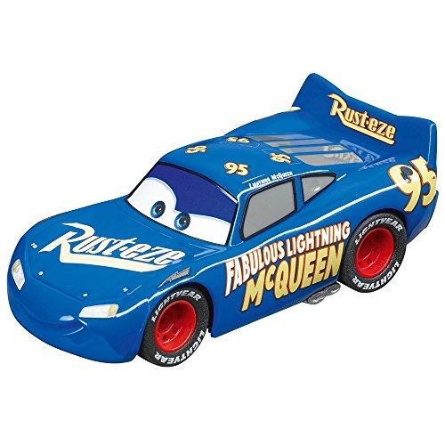 Carrera GO!!!- Disney·Pixar Cars Rayo Mcqueen Coche, Color Azul, Rojo (20064104)