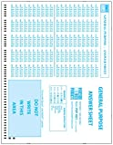 Precision Data Products PDP 4521 Test Forms, General Purpose, Student Enrollment, 500 Sheet Pack