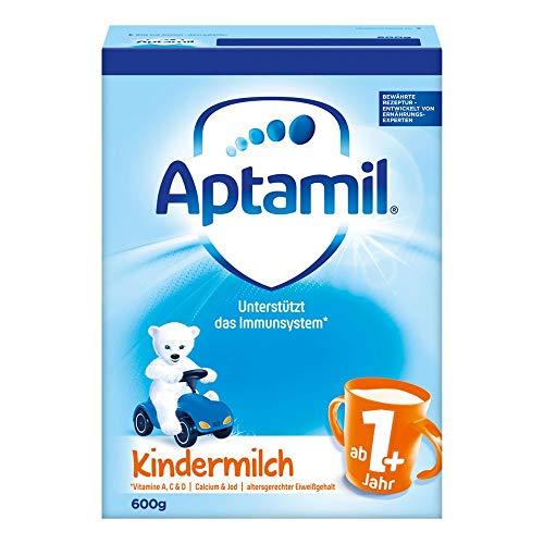 La leche Aptamil niños 1+ a partir del mes 12, 600g