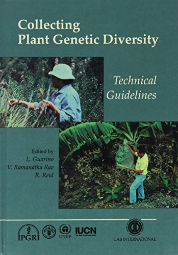 Collecting Plant Genetic Diversity: Technical Guidelines