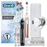 Oral-B Genius 10900 Elektrische Zahnbürste mit Zahnfleischschutz-Assistent, mit 2. Handstück und...