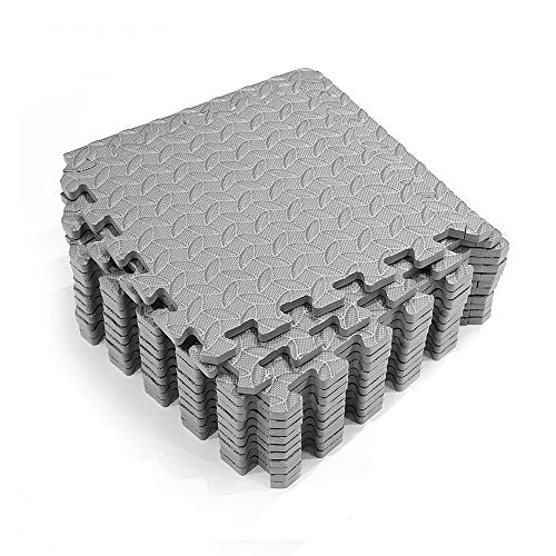 A-Generic Lot de 16 tapis de piscine - Protection du sol - Pour la piscine/pataugeoire - Film de sol - Convient pour toutes les piscines (gris)