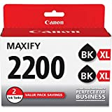 Canon PGI-2200XL Black Twin Pack Compatible to IB4120, MB5120, MB5420, IB4020, MB5020, MB5320