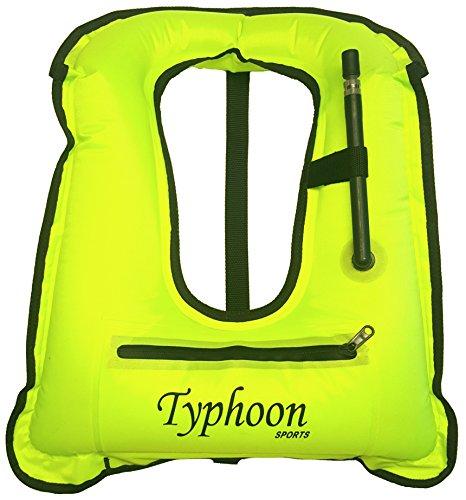 Typhoon Sports Inflatable Snorkel Vest
