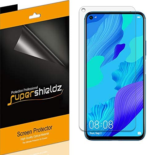 6 Pack Supershieldz for Huawei Nova 5T Screen Protector High Definition Clear Shield PET product image