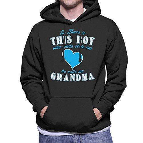 Grandma And Grandson Sweatshirt met capuchon voor heren