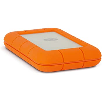LaCie Rugged 1TB Thunderbolt and USB 3.0 Portable Hard Drive + 1mo Adobe CC All Apps (LAC9000488)