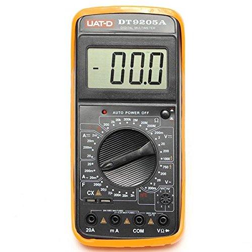 mark8shop DT9205A Digital Multimeter Voltmeter Ohmmeter AC/DC Amperemeter Kapazität Tester