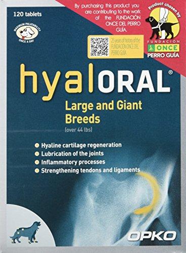 Farmadiet Hyaloral Razas Grandes y Gigantes 10 Blísters con 12 Comprimidos - Total: 120 Comprimidos ✅