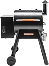 Traeger Grills TFB38TOD Renegade Pro Pellet Grill and Smoke 380 Sq. in. Cooking Capacity, Black/Orange