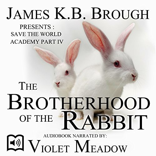 The Brotherhood of the Rabbit audiobook cover art