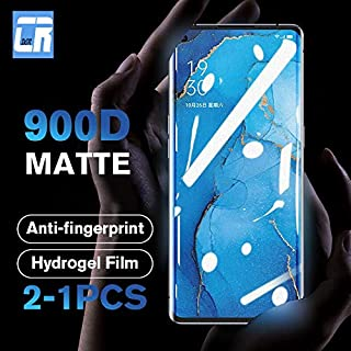 TOMMY-Phone Screen Protectors - No Fingerprint Matte Hydro Film for Oppo Reno 3 Pro 2 2Z ACE X10 Zoom Screen Protector for...