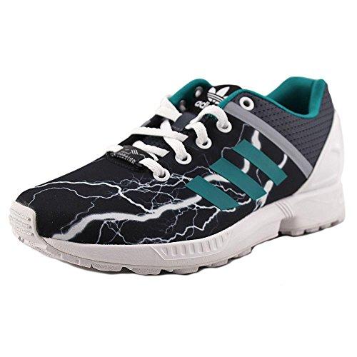 Adidas ZX Flux Split K Youth US 3.5 Gray Fashion Sneakers