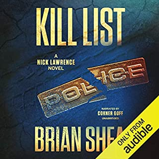 Kill List audiobook cover art