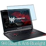 VacFun Filtro Luz Azul Vidrio Templado Protector de Pantalla para Acer Predator 15 G9-592 / G9-593 15.6' Visible Area, 9H Cristal Screen Protector Anti Blue Light Filter(Cobertura no Completa)