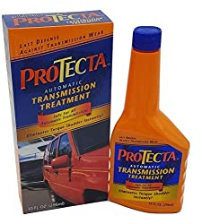 commercial ProTecta automatic transmission with 10 ounce bottles lucas transmission conditioner