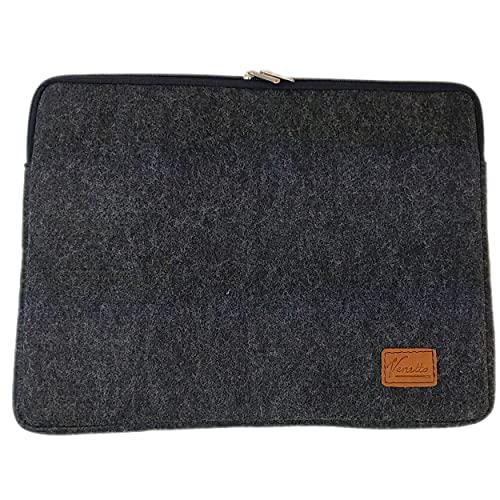 Venetto Funda protectora para MacBook Pro de 16' (15,4 pulgadas), color negro
