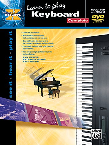 Learn to Play Keyboard: Complete (Alfred's Max Series)