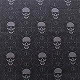 Halloween Sinister Skulls, Baumwolle in Premium-Qualität,