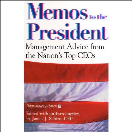Memos to the President audiobook cover art