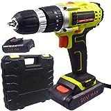 EastMetal Taladro Sin Cable, Atornillador Bateria Portátil con 18+1 Ajustes...