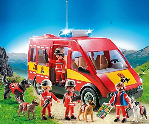 Playmobil 9125 - Rettungshundestaffel K-9 Einheit