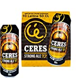 Birra CERES STRONG ALE - Cassa 10 Lattine da 50 CL - Strong Lager danese doppio malto