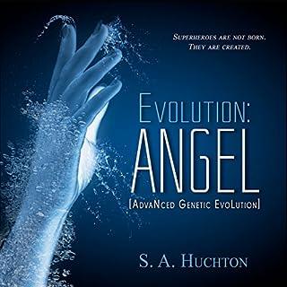 Evolution: ANGEL audiobook cover art