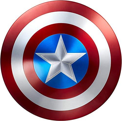 Bouclier Captain America Les Métal Captain America Tous Les Métal 75e Anniversaire Bouclier AméRicain Captain America Halloween Jeu De RôLe Superhero Up Costume Costume