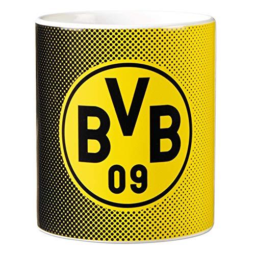 Borussia Dortmund, BVB-Tasse schwarzgelb, Gelb, 0