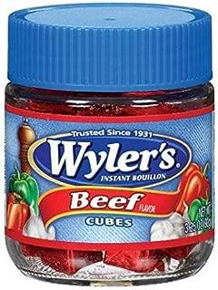 Wyler's Instant Beef Bouillon Cubes, 3.25 oz Jar