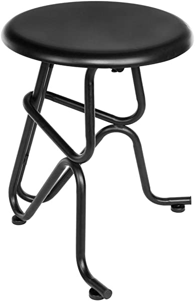 Mojogy Round Iron Stool Bar Stools Kitchen Counter Stool Industrial Round Barstool Stool Suit For Kitchen Restaurant Bedroom