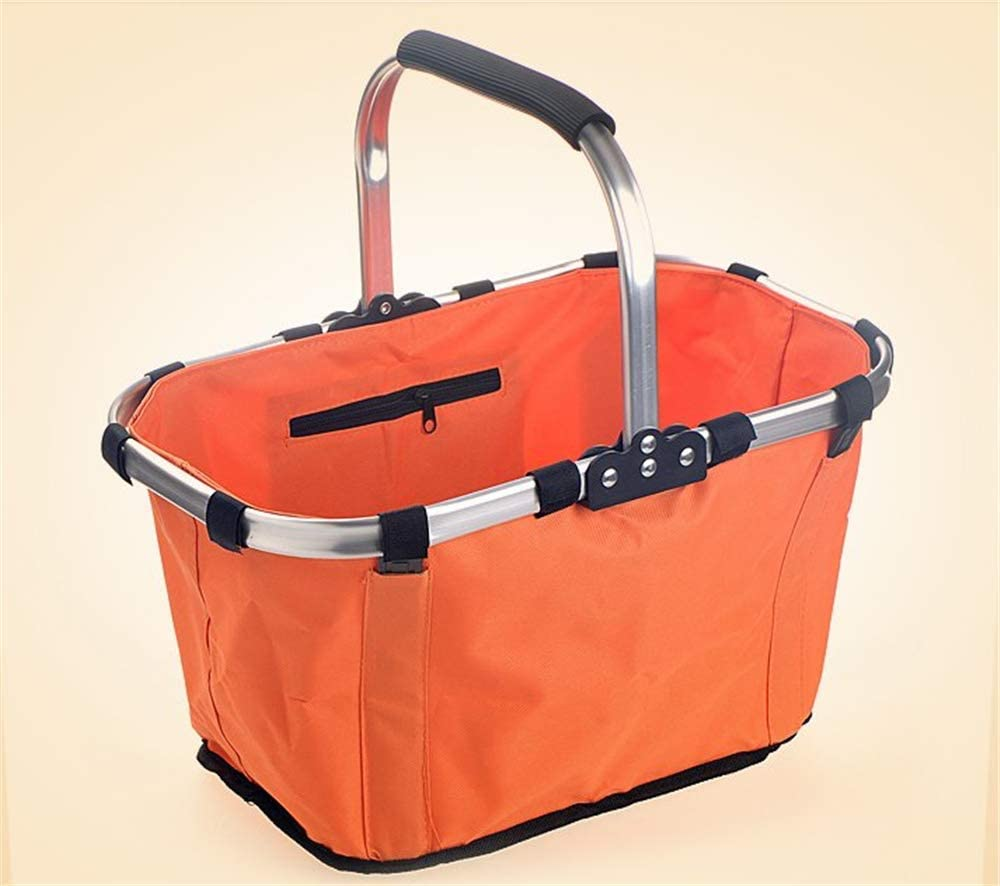 High quality new Yadianna Picnic Baskets Outdoor Folding Hand-held Limited time trial price Ec Supermarket