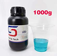 Blu - Strong and Precise High Resolution 3D Printing Resin by Siraya Tech (Blue)