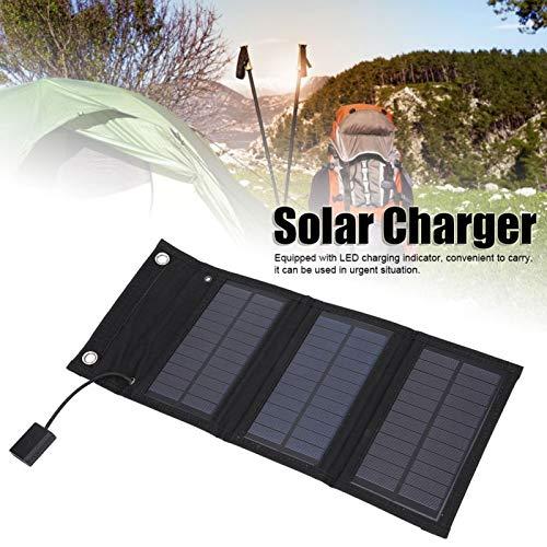 SONK Energía móvil Solar, Cargador Solar Ligero para Coche Baterías para cámaras de vigilancia para carros para portátiles