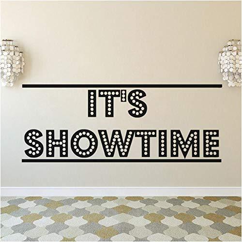 Xxscz Es Ist Showtime Poster Film Wandtattoo Kino Theater Dekoration Filmstreifen Klebeband Wandaufkleber Kino Ecke Tapete Kunst