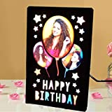 Gift Jaipur Personalised Birthday Colorfull LED Photo Lamp Frame for Wife Husband Mother Father Sister Brother Friends