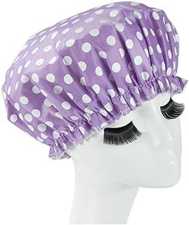 Reusable Waterproof Greaseproof Shower Cap Spa/Bathing Cap Cooking Hat #12