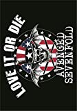 Avenged Sevenfold,Love It Or Die, Fahne