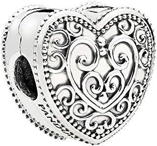 Pandora 797024 Silver Heart Clip