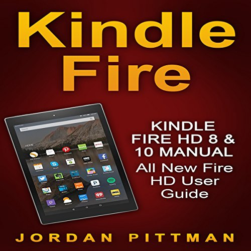 Kindle Fire HD 8 & 10 Manual audiobook cover art