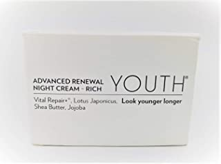 Shaklee YOUTH Advanced Renewal Night Cream Rich 1.7 Fl Oz